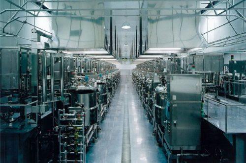 メタシボリの工場