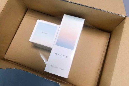 商品は、きちんと固定されるようになっていて箱の中で動くことがないようになっていました。